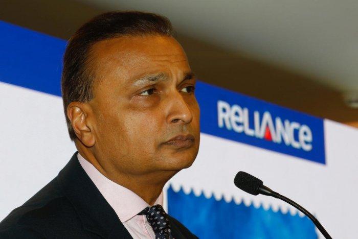 Anil Ambani. Reuters file photo