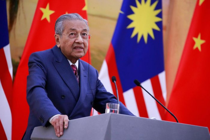 Malaysia's Prime Minister Mahathir Mohamad. AFP photo