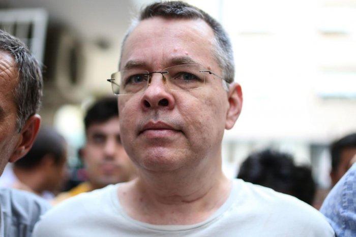US pastor Andrew Craig Brunson. AFP