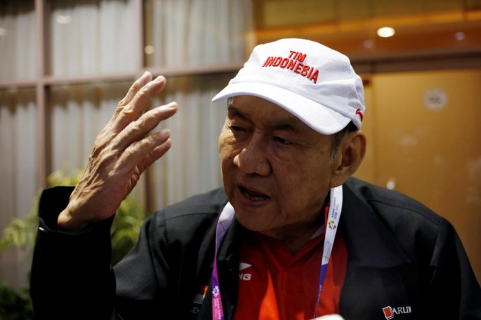 Indonesian billionaire Michael Bambang Hartono, a bridge player, is hoping to win at least one gold medal at the Asian Games. REUTERS