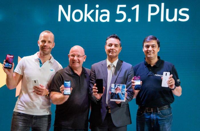 HMD Global officials unveils Nokia 6.1 Plus, Nokia 5.1 Plus