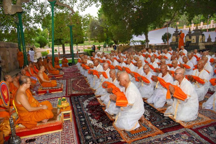 """With an aim to promote prominent Buddhist heritage and pilgrimage sites in Maharashtra, the Maharashtra Tourism Development Corporation in association with the Ministry of Tourism is organizing the """"6th International Buddhist Conclave 2018 on 24th August in Aurangabad. PTI file photo"""