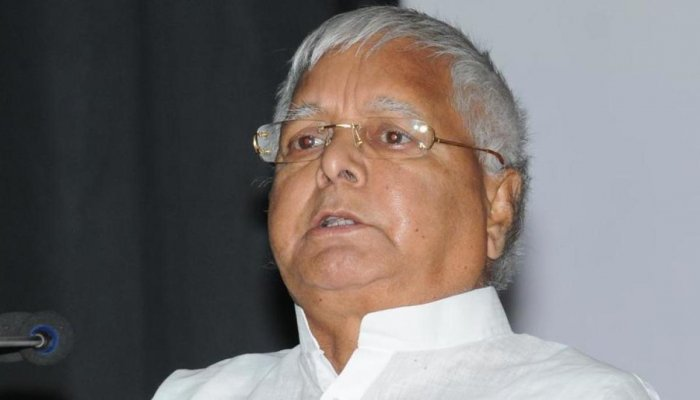 Rashtriya Janata Dal president Lalu Prasad.