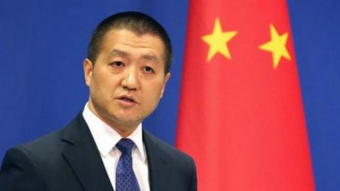 Ministry spokesman Lu Kang. File photo