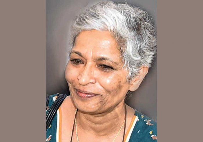 Gauri Lankesh. File photo