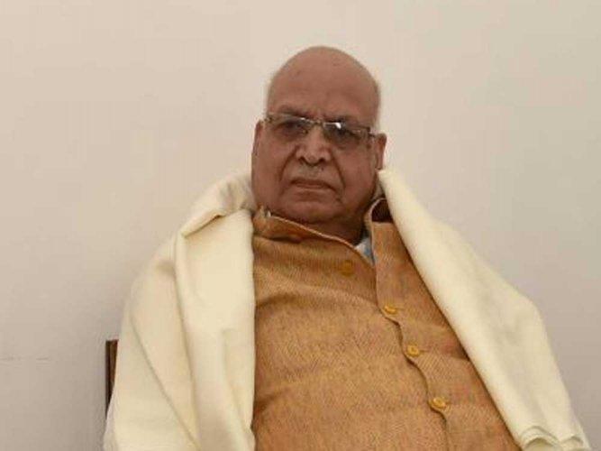 Senior BJP leader and a protege of former PM Atal Bihar Vajpayee, Lalji Tandon. PTI file photo