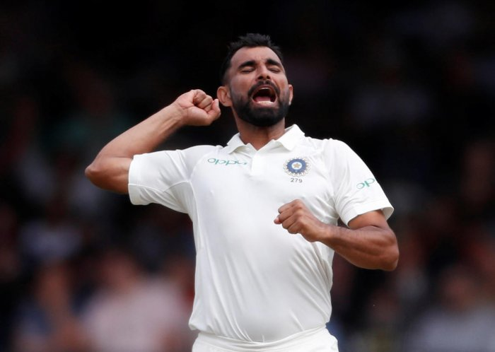 FAST AND FURIOUS: Mohammed Shami, along with Ishant Sharma and Jasprit Bumrah, have added more teeth to Indian pace attack. REUTERS