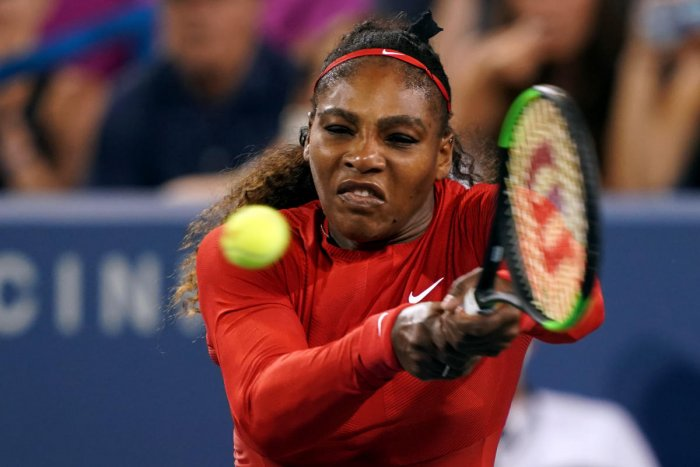 DIFFICULT PATH Serena Williams was drawn in the same quarter as sister Venus and top seed Simona Halep.