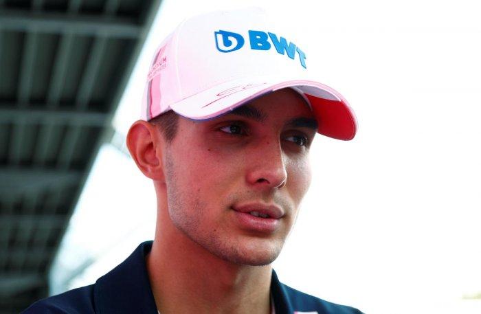 Esteban Ocon ahead of the Belgian Grand Prix. Reuters