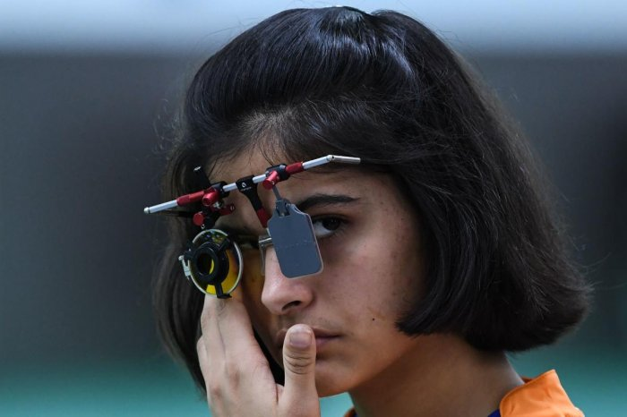 DISAPPOINTING Manu Bhaker was one of biggest let downs for India as the young shooter failed to win a single medal. AFP