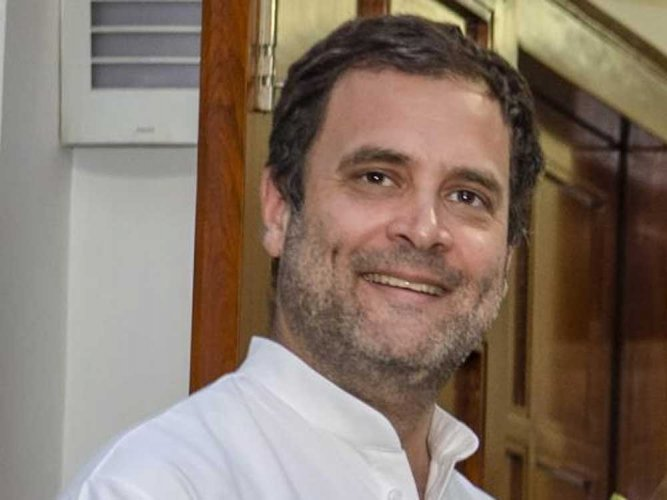 The Congress plans to include visits to popular temples such as the Mahamaya temple in Sarguja and the Bhoramdev temple in Kawardha on Rahul's itinerary in Chhattisgarh. PTI file photo