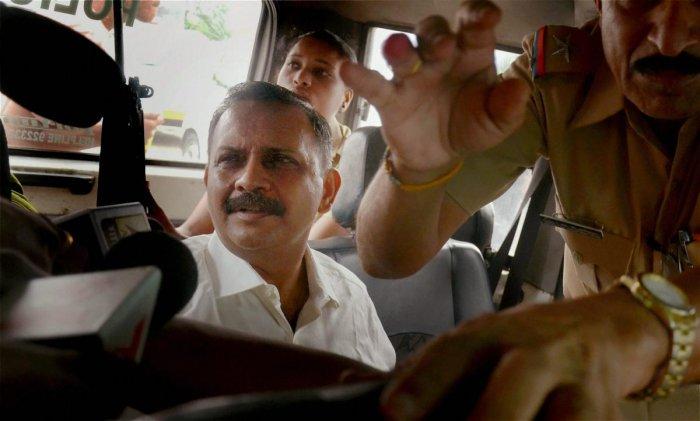 Lt Col Shrikant Prasad Purohit was granted bail by the Supreme Court in the 2008 Malegaon blast case. (PTI File Photo)
