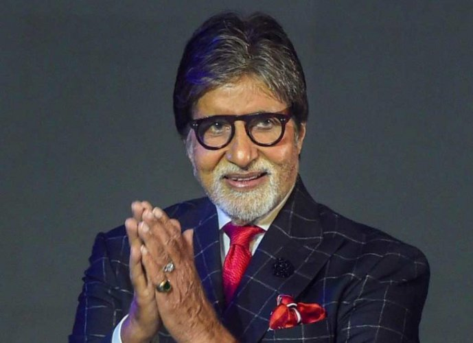 Amitabh Bachchan today said he would be donating Rs 1 crore to the families of martyrs and an additional Rs 1.5 crore to waive off loans of farmers. PTI File Photo