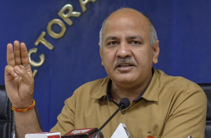 Delhi Deputy Chief Minister Manish Sisodia. PTI file photo