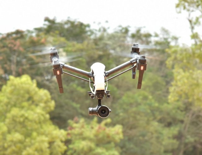 The regulations come as there is a growth in drone usage in the country for several purposes, which include photography and agricultural purposes. (DH File Photo/Janardhan B K)