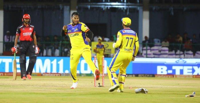 Mysuru Warriors paceman Vyshakh Vijaykumar has been among the wickets and will be crucial to his side's success.