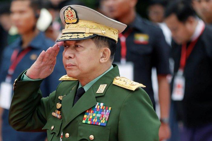 Myanmar's Commander in Chief Senior General Min Aung Hlaing. (REUTERS File Photo)