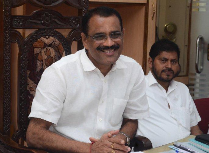 Mangaluru Mayor K Bhaskar Moily