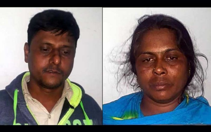 Amir Chote Sab (38) a resident of TC Palya in KR Puram and Neelamma (35) a resident of Seegehalli in KR Puram have been arrested and booked under various sections of Passport Act and Foreigners Act.