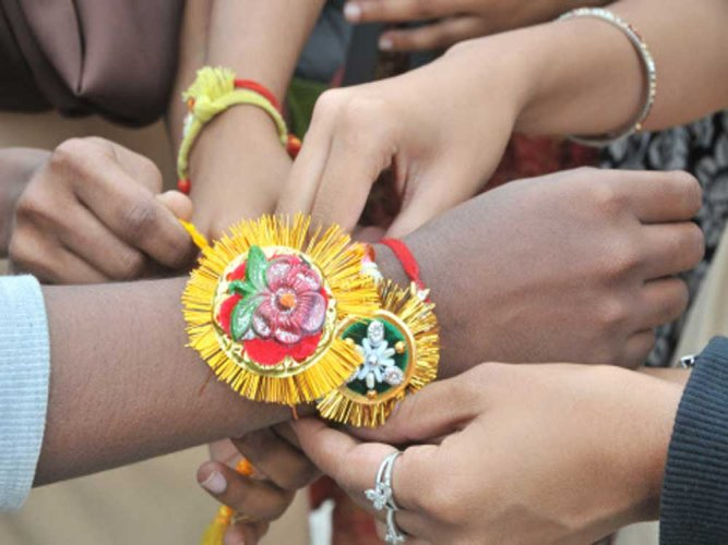 The state government had asked the cops to launch 'rakhiwithkhaki' campaign with the objective of instilling confidence in women in the wake of rising crimes against them.