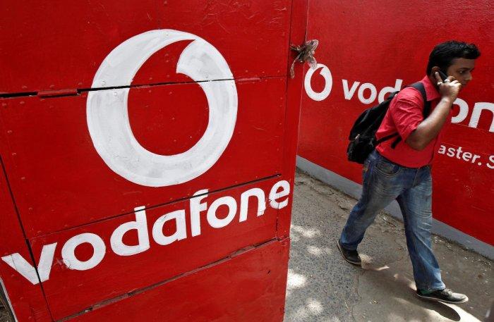 Vodafone. Reuters file photo