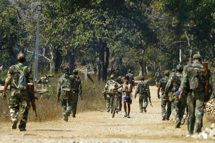 The DRG is a special anti-Naxal police force deployed in the insurgency-hit districts of Chhattisgarh. (File Photo)