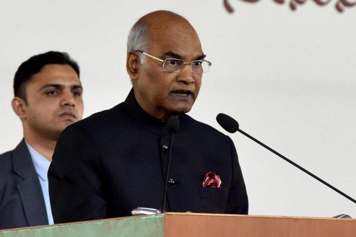President Ram Nath Kovind. (DH File Photo)