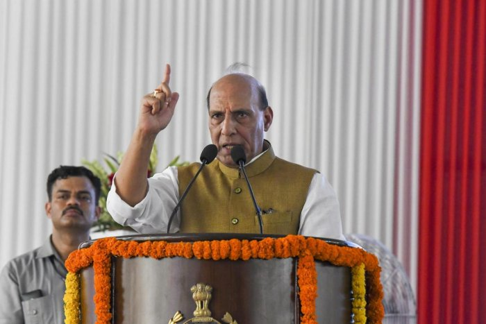 Union Home Minister Rajnath Singh. (PTI File Photo)