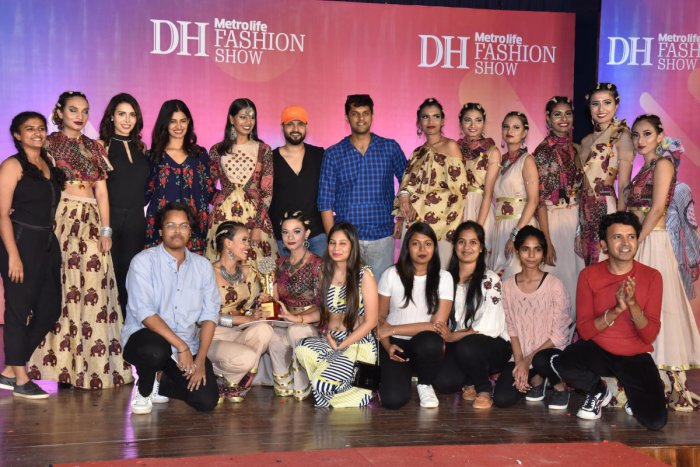 Vogue Institute of Fashion Technology students won first place