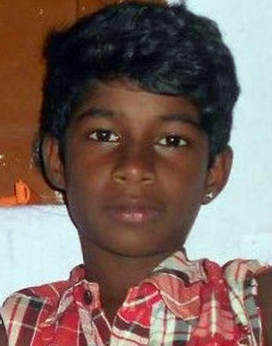 Praveen, the 11-year-old boy who died after being mauled by a pack of strays on Saturday.