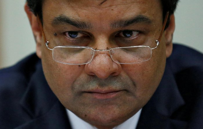 The Reserve Bank of India (RBI) Governor Urjit Patel. Reuters photo