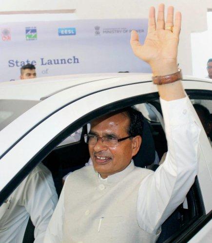 Madhya Pradesh Chief Minister Shivraj Singh Chouhan. (PTI file photo)