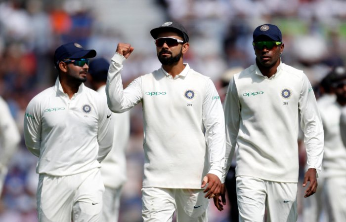 Virat Kohli achieved a career-high 937 rating points after innings of 46 and 58 in the fourth Test. Reuters Photo