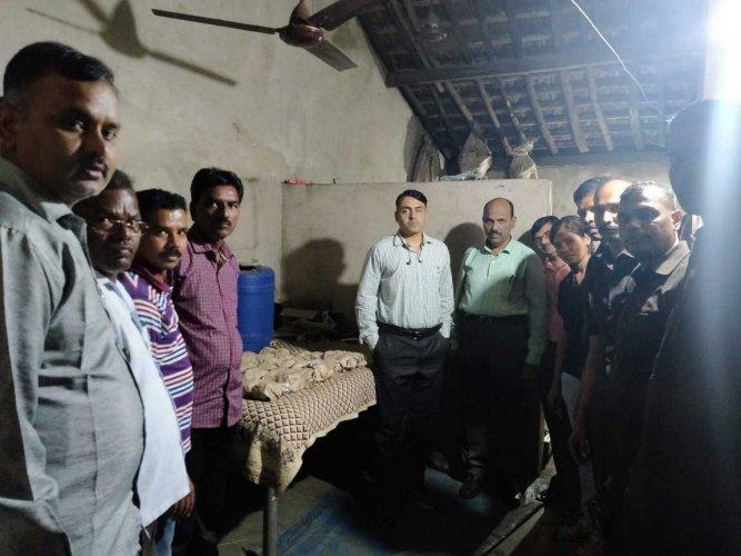 The Raigad police has seized 46 gelatin sticks, detonators and other materials. (ANI Photo/Twitter)