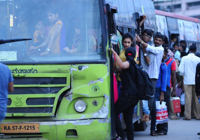 "Transport Minister D C Thammanna said a hike in bus fares has become ""inevitable""."