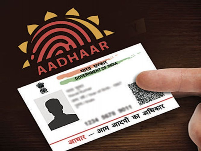 The Aadhaar (Targeted Delivery of Financial and Other Subsidies, Benefits and Services) Act, 2016, prohibits publishing and displaying the Aadhaar number publicly, the higher education regulator noted in the latest communication to all university vice-chancellors. File photo