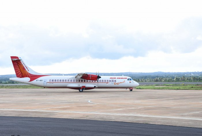 The Hubballi Airport is becoming busier and busier by every passing day, thanks to the Udan Project, as more than 45,000 people either arrived or departed from Hubballi airport in July month alone. DH photo