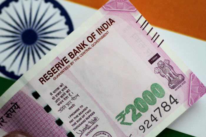 The domestic currency was quoted 37 paise lower at 72.12 against the US dollar in afternoon trade.