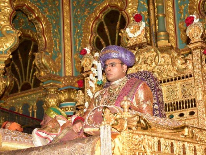 Yaduveer Krishnadatta Chamaraja Wadiyar. (DH File Photo)
