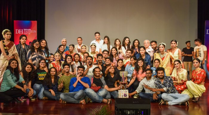 Army Institute of Fashion and Design won the first place in Deccan Herald Metrolife Fashion Show Season 8.
