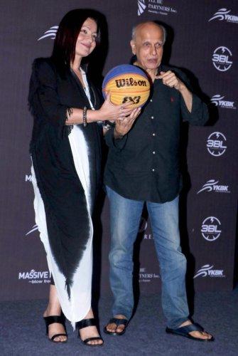 Bollywood filmmaker Mahesh Bhatt and his daughter Pooja Bhatt. PTI file photo