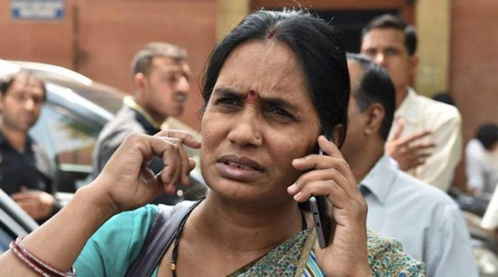 Nirbhaya's mother. (PTI File Photo by Manvender Vashist)