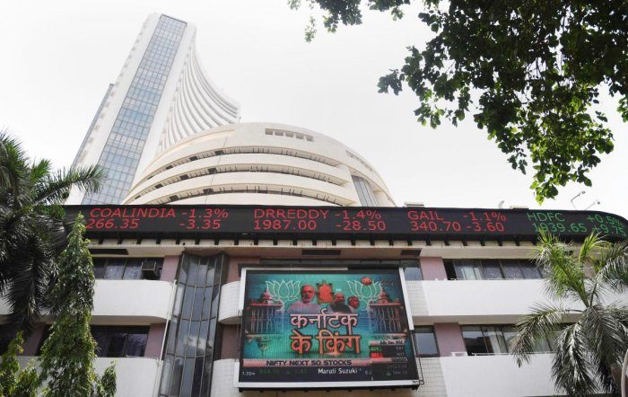 A view of the Bombay Stock Exchange, in Mumbai. (PTI File Photo)
