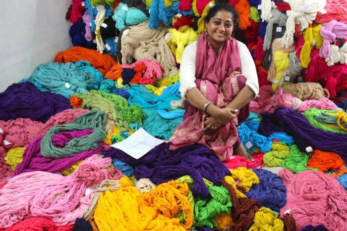 Creative Designer Rema Kumar blends weaves from across India.