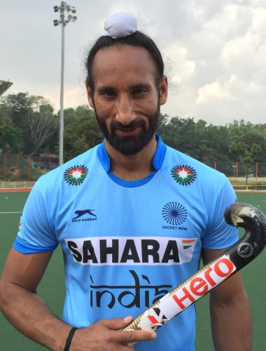 Sardar Singh. DH file Photo