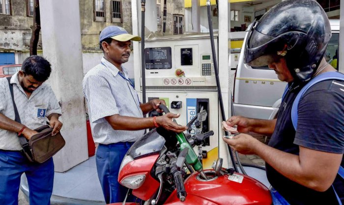 "The petition has alleged that the government was spreading ""misleading information"" by connecting the rising fuel prices here with the global increase in the rate of crude oil as the cost of petrol and diesel did not go down when crude was cheaper. PTI Ph"
