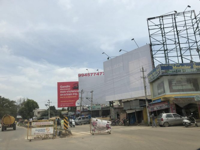 The high court on Tuesday ordered the BBMP to submit details of the 1,880 illegal hoardings and structures that have not been removed by their owners despite being served notices by the civic body.