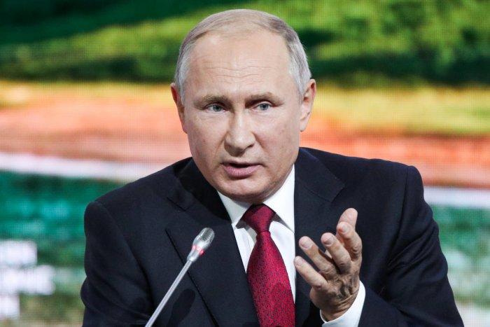 Russian President Vladimir Putin. (Reuters Photo)