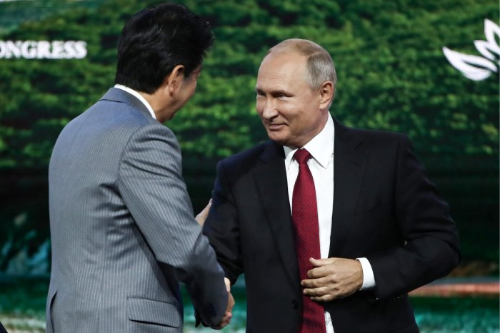 The dispute between Russia and Japan centres on the four southernmost islands in the Kuril chain which the Soviet Union occupied at the end of World War II but are claimed by Japan. Reuters Photo