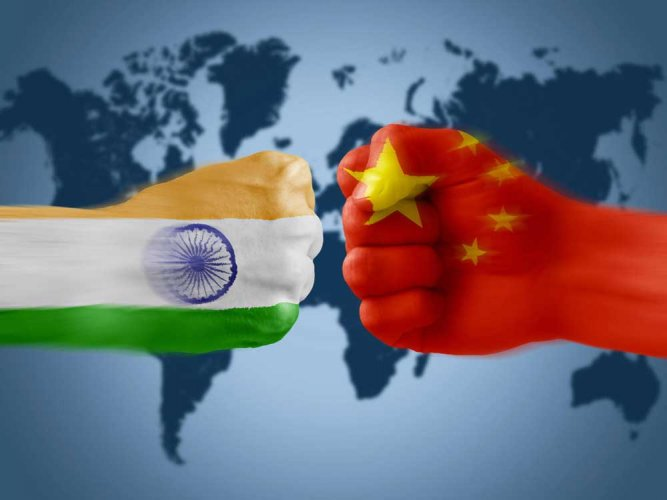 Image result for india  with china